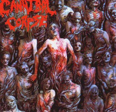 CANNIBAL CORPSE - necenzúrovaný obal