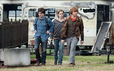 Harry, Hermiona, Ron