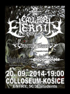 CALL FOR ETERNITY EXTREME - Košice, Collosseum Music Pub - 20. 9. 2014