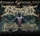 INGESTED, ACRANIUS, EPICARDIECTOMY, SLAUGHTER TO PREVAIL, LIQUID SPACE 9 - Nejbrutálnìjší akce jara