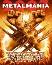 METALMANIA 2007 - DVD+CD