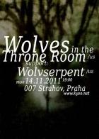WOLVES IN THE THRONE ROOM, WOLVSERPENT - Praha, Klub 007 - 14. novembra 2011