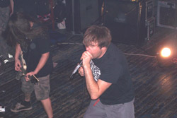 NAPALM DEATH, INGROWING, UPRISE, SANATORIUM,  RUBUFASO MUKUFO - Košice, IC Culture Train - 18. januára 2008