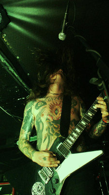 BARONESS, SAVIOURS, WEEDEATER, BLACK COBRA, DRAGGED INTO SUNLIGHT - Praha, Matrix - 7. èervence 2010