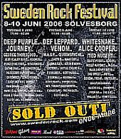SWEDEN ROCK FESTIVAL - 2DVD