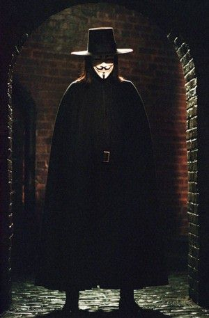 V FOR VENDETTA - èas nasadit masky